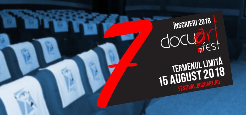 Inscrieri - Docuart Fest 2018