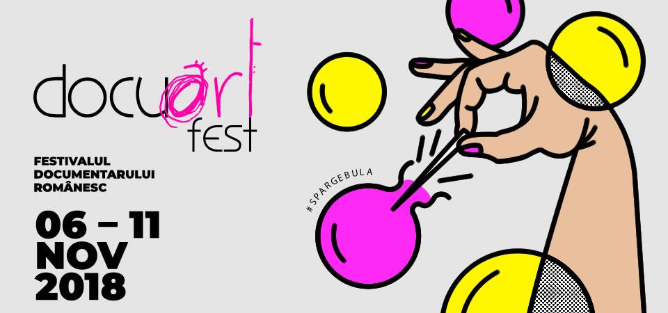 Filmele selectate în competiție la Docuart Fest 2018